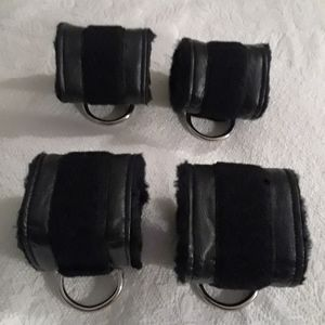 Blisscuffs Accessories - Set of Velcro Wrist and Ankle Cuffs